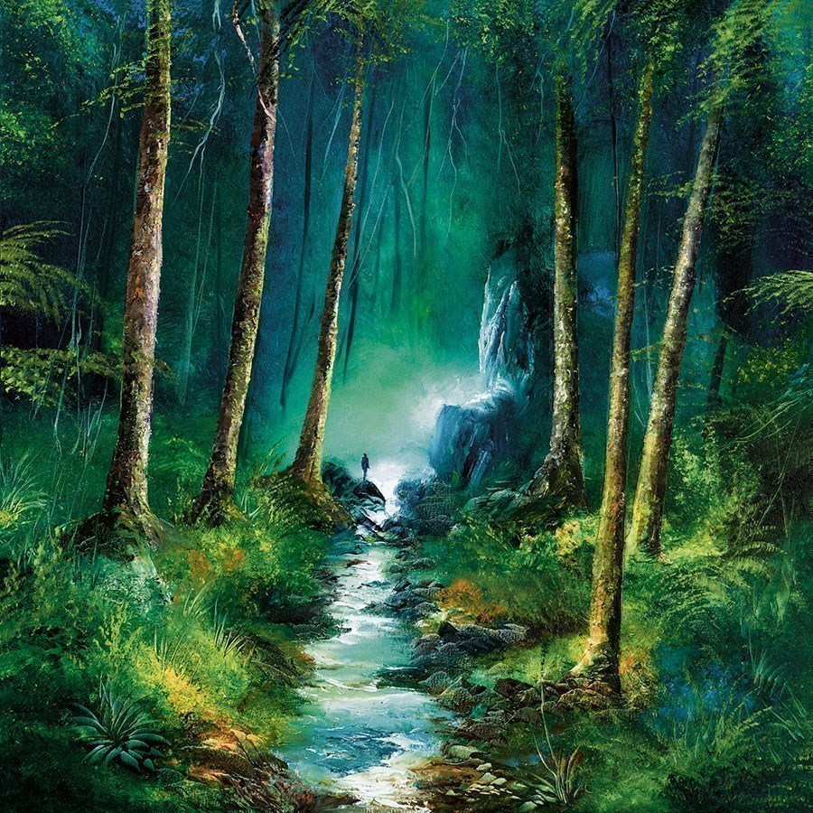 Forest of Light by Philip Gray - Hand Finished Limited Edition on Canvas sized 20x20 inches. Available from Whitewall Galleries